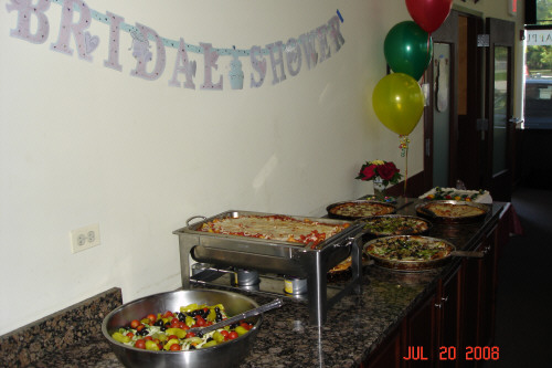 Good Food at the Shower